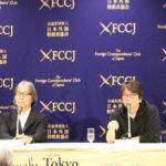 森達也監督、河村光庸『i-新聞記者ドキュメント-』日本外国特派員協会記者会見 (2)[1]