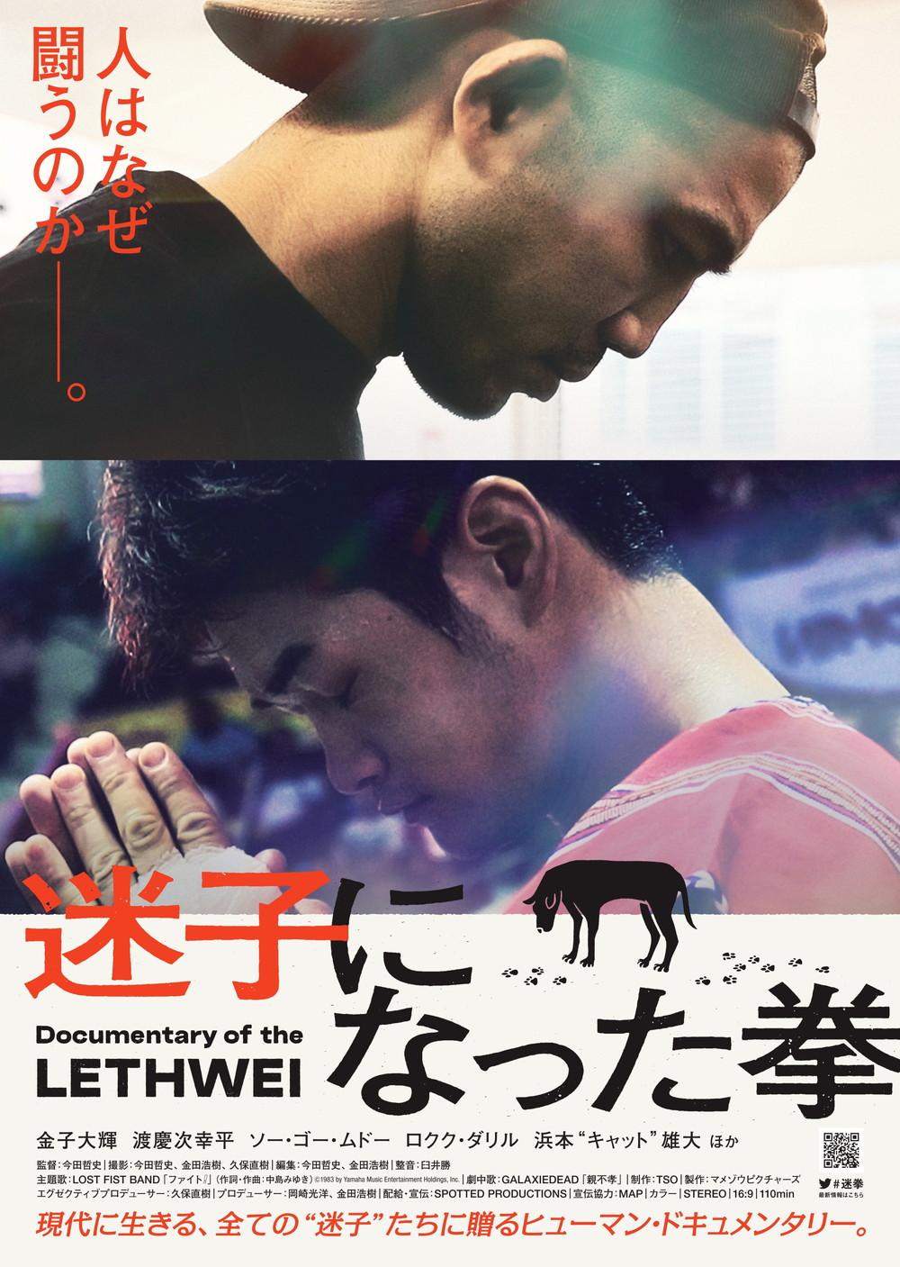 『迷子になった拳』ポスター画像