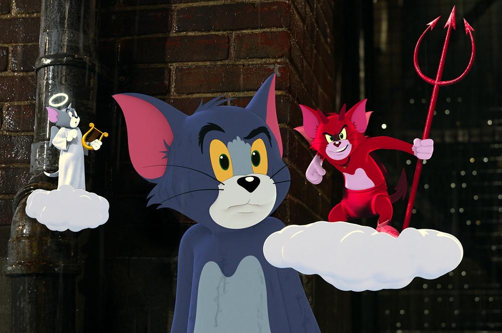 【霜降りさん:天使のトム(せいやさん)、悪魔のトム(粗品さん)】