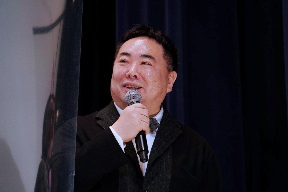 映画『樹海村』初日舞台挨拶