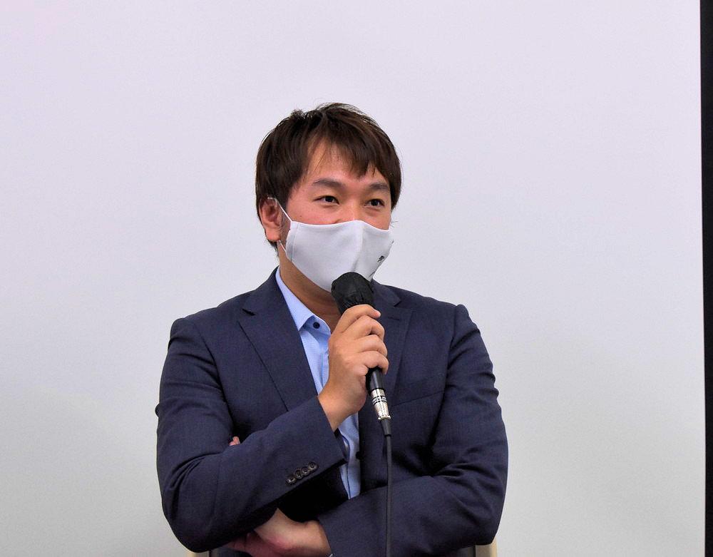 映画『漂流ポスト』 記者会見_清水健斗監督