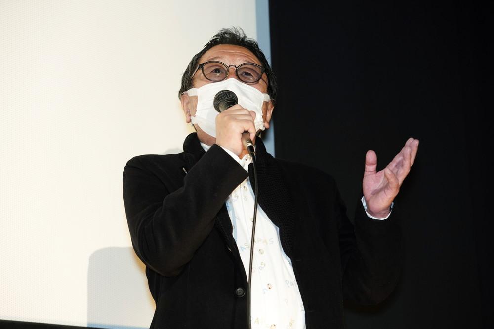 6高橋伴明監督_痛くない死に方初日舞台挨拶