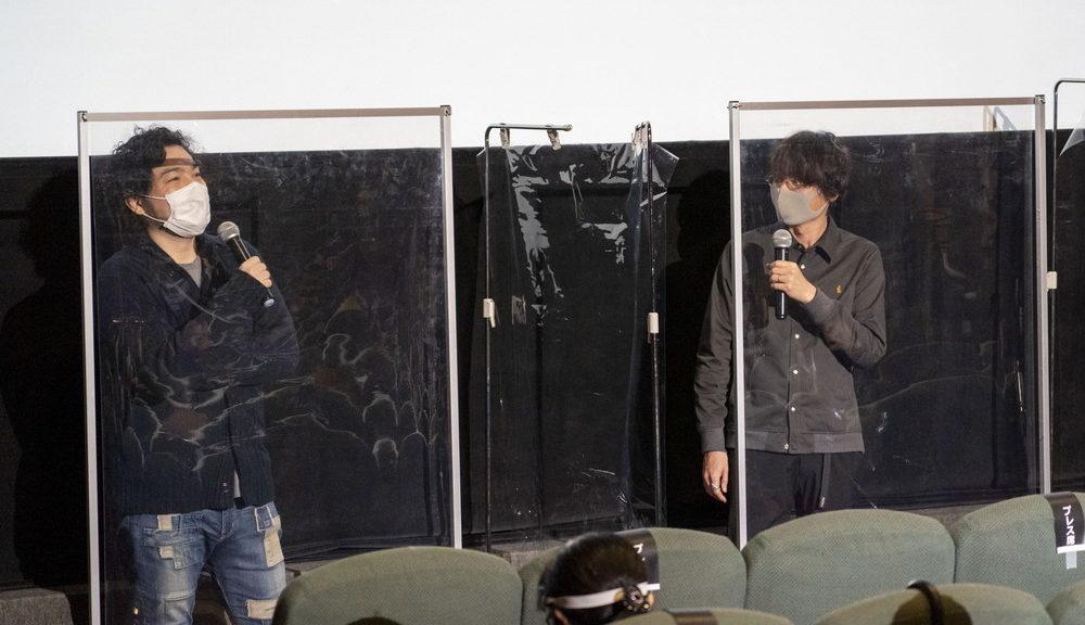『あの花』(左)田中将賀_(右)長井龍雪監督@TAAF