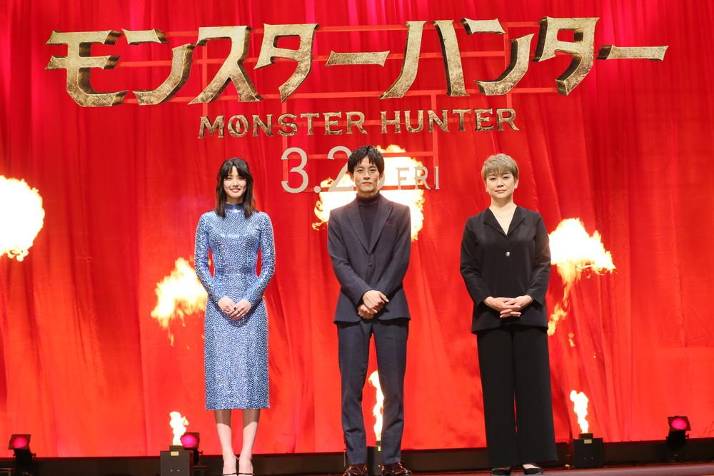 『モンスターハンター』ジャパンプレミア