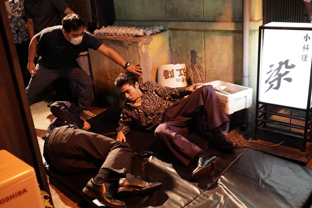 映画『孤狼の血 LEVEL2』メイキング写真