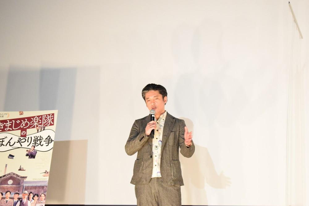 池田監督『きまじめ楽隊のぼんやり戦争』舞台挨拶