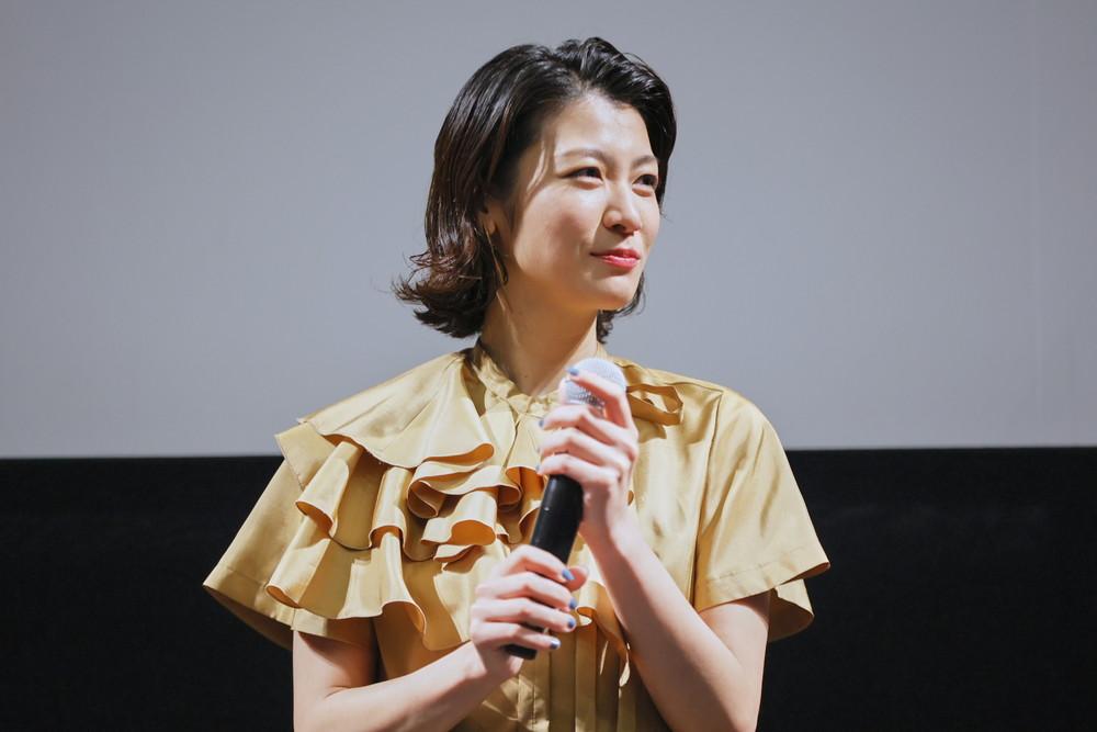 瀧内公美『裏アカ』ガールズ試写会