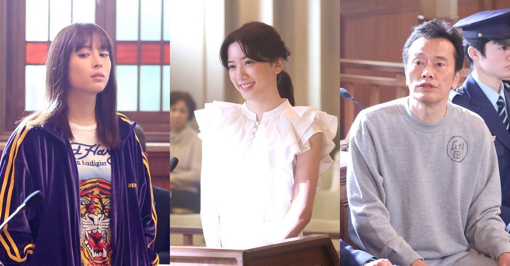「イチケイのカラス」左から)広瀬アリス、永野芽郁、遠藤憲一
