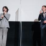 映画『裏アカ』公開記念舞台挨拶陣