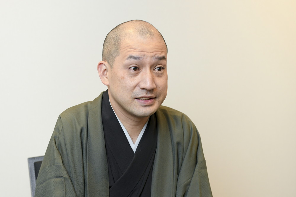 春風亭一之輔×シネマ歌舞伎取材会