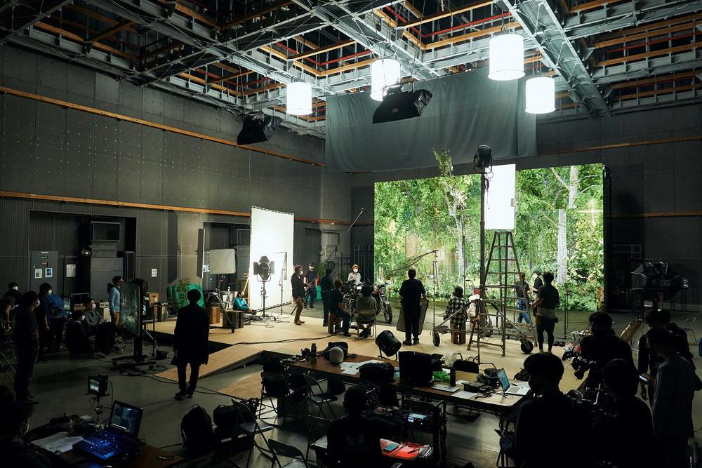 撮影風景『DIVOC-12』