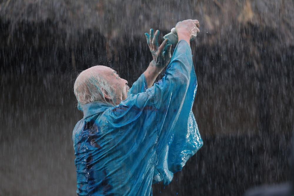 映画『HOKUSAI』北斎ブルー・ベロ藍