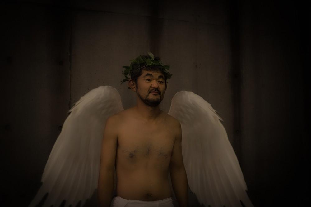 『アジアの天使』天使イメージビジュアル