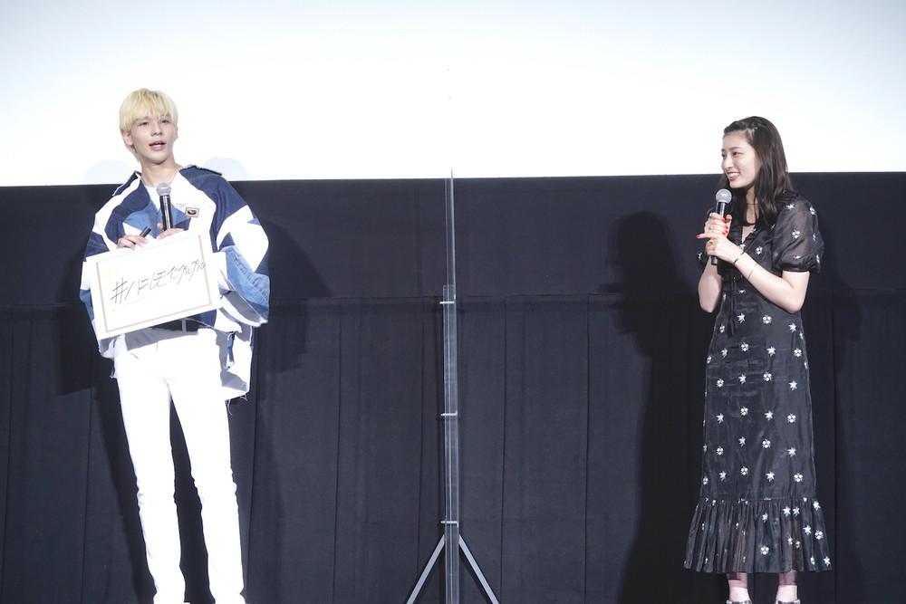 『ハニーレモンソーダ』しゅわきゅん♡大ヒット御礼舞台挨拶