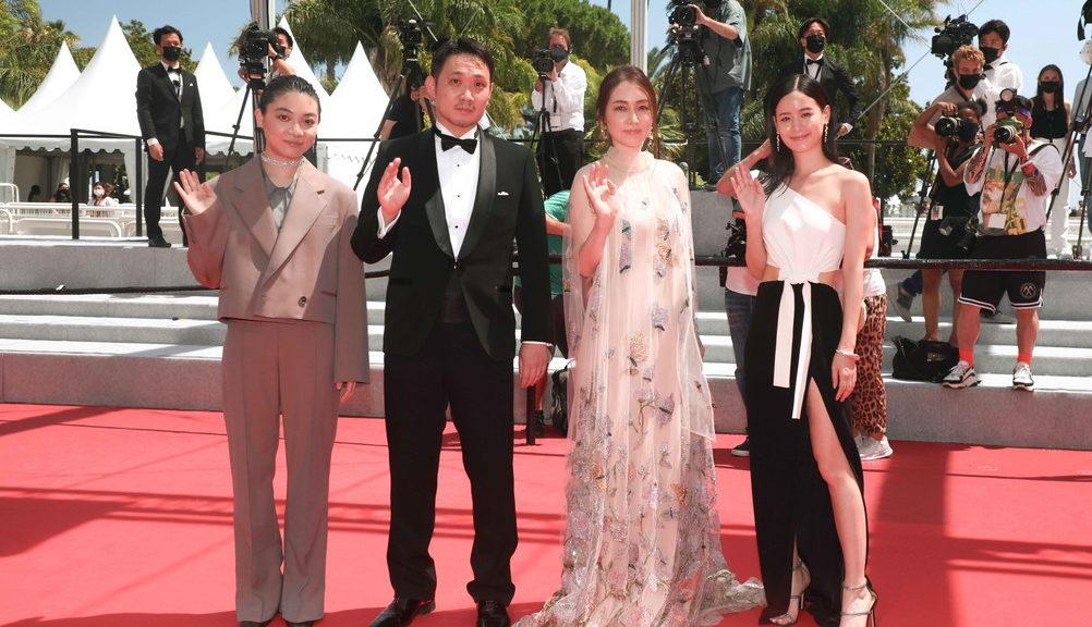 カンヌレッドカーペット『ドライブ・マイ・カー』DMC_Cannes_Kazuko Wakayama