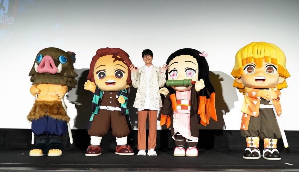 7月3日_劇場版「鬼滅の刃」無限列車編 舞台挨拶