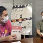 対談写真入江監督北條支配人「ミニシアタークラブ」