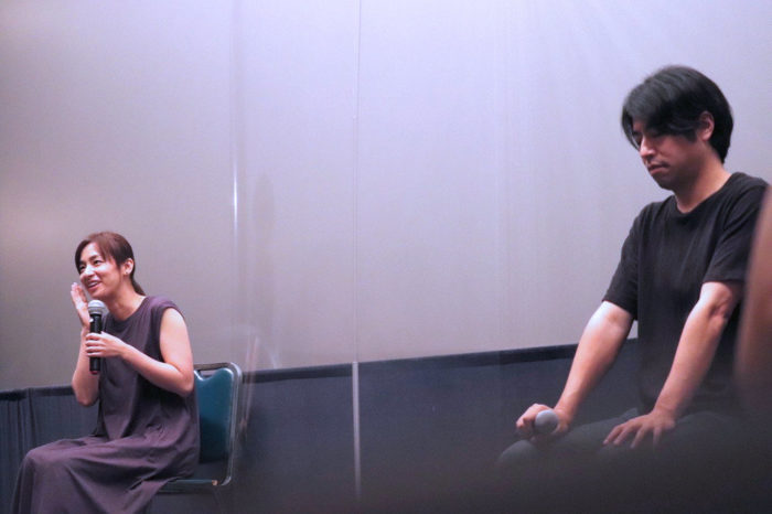 尾野真千子×石井裕也監督「茜色に焼かれる」トークイベント