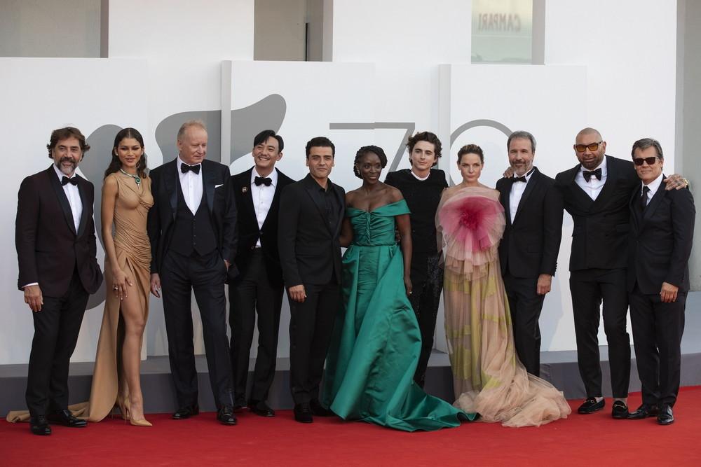 「DUNEデューン砂の惑星」ヴェネツィア国際映画祭