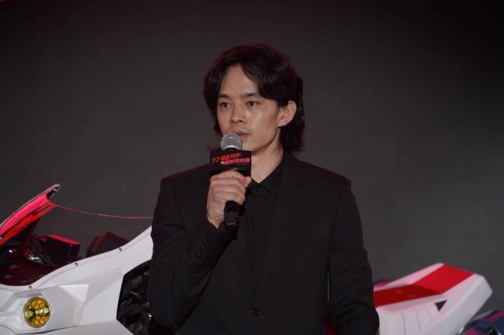 【池松壮亮様】「シン・仮面ライダー対庵野秀明展」合同記者会見