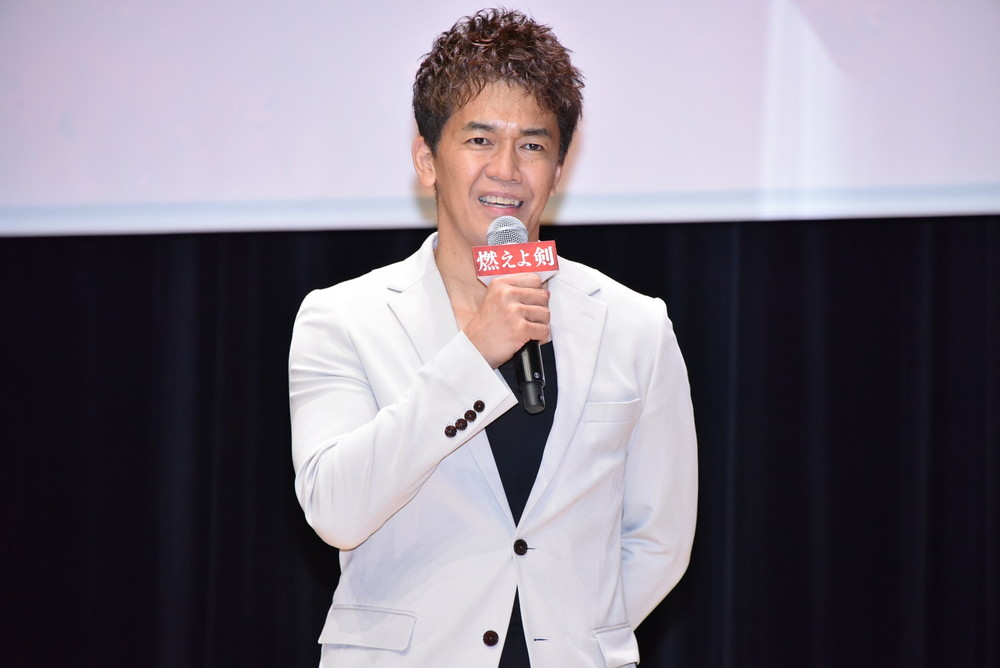 武井壮「燃えよ剣」スペシャルトークイベント