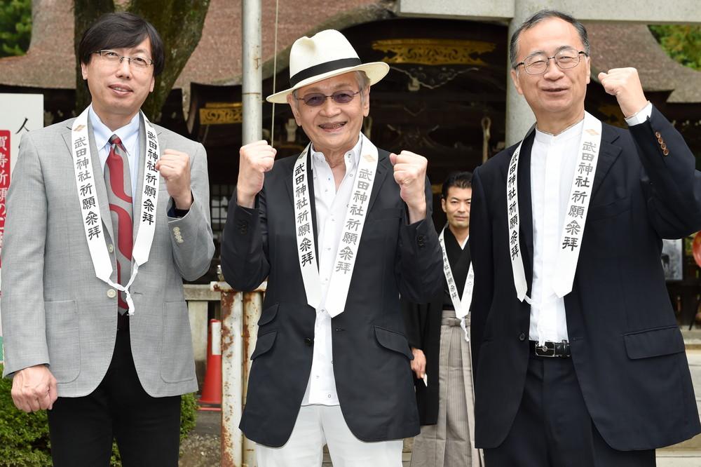 武田神社『信虎』ヒット祈願