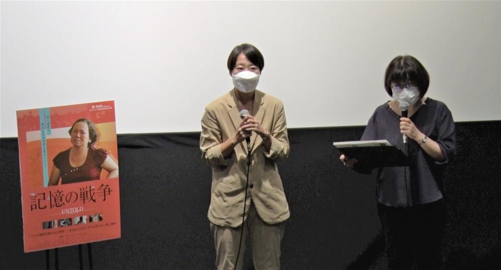 韓国ドキュメンタリー映画『記憶の戦争』舞台挨拶