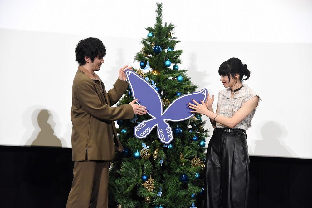 『恋する寄生虫』女性限定試写会フタゴムシ飾りつけ