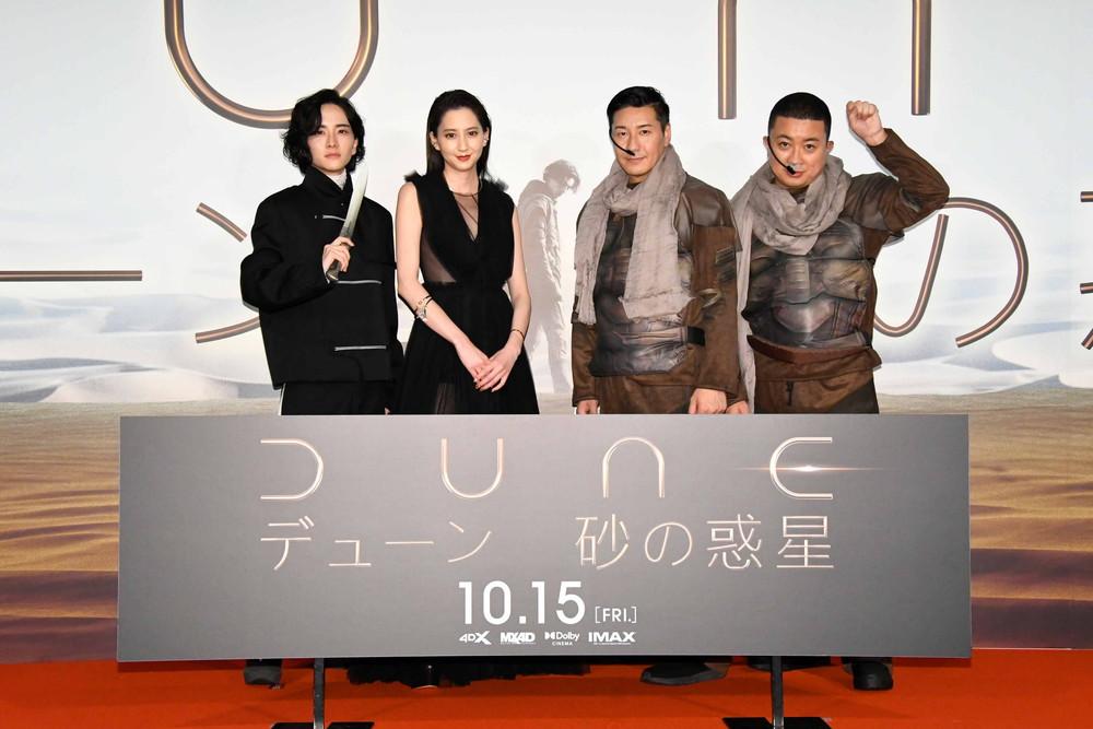 映画『DUNEデューン 砂の惑星』ジャパンプレミア